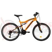 Bicicleta DHS Teranna 2445 portocaliu 2019