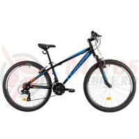 Bicicleta DHS Teranna 2623 neagra 2019