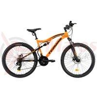 Bicicleta DHS Teranna 2645 portocalie 2019