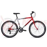 Bicicleta Drag Hacker TZ-36 rosu/argintiu