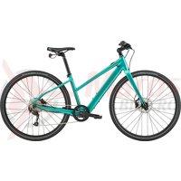 Bicicleta electrica Cannondale 700 U Quick Neo SL 2 Remixte Turquoise