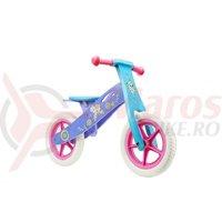Bicicleta fara pedale Seven Frozen mov/albastru