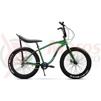 Bicicleta fat bike Pegas Cutezator EV Banana 7v verde smarald