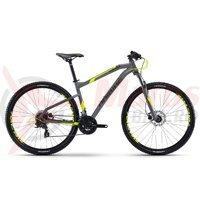 Bicicleta Haibike Seet HardNine 2.0 24s Acera mix titan/yellow/black matt 2017
