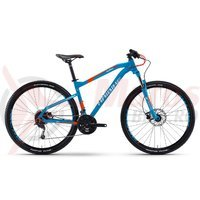 Bicicleta Haibike Seet HartNine 3.0 27s Deore mix blue/orange/white 2017