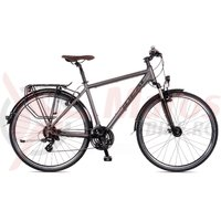 Bicicleta Ideal Trekking 700C Travel-On Men 24v FC Suntour anth