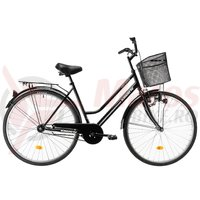Bicicleta Kreativ 2812 neagra 2019