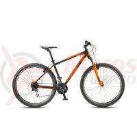 Bicicleta KTM Chicago 29.24 Classic negru mat/orange