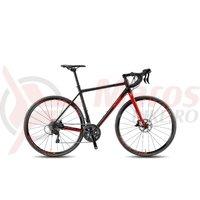 Bicicleta KTM Strada 2000 negru/rosu