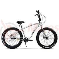 Bicicleta Pegas Cutezator EV 3S alb perlat
