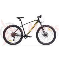 Bicicleta Pegas Drumuri Grele Pro 27.5+ negru mat