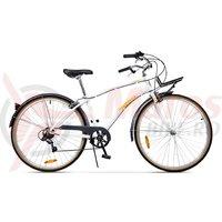 Bicicleta Pegas Popular Alu 7S alb perlat