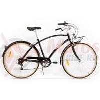 Bicicleta Pegas Popular Alu 7S negru stelar