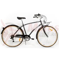 Bicicleta Pegas Popular Otel 7S gri spatial
