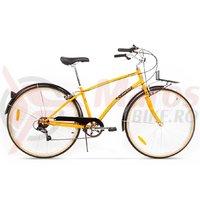 Bicicleta Pegas Popular Otel 7S portocaliu neon