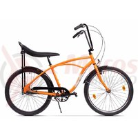 Bicicleta Pegas Strada 1 aluminiu 3S portocalie