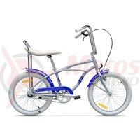 Bicicleta Pegas Strada Mini 1 viteza bleu arctic 2017