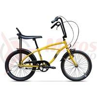 Bicicleta Pegas Strada Mini 1 viteza galben bondar 2017