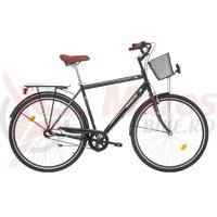 Bicicleta Robike City Man 28 neagra 2017