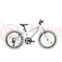 Bicicleta Sprint Apolon 20 alb/albastru/roz 2017