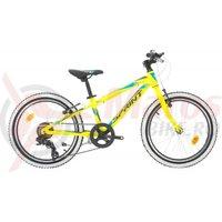 Bicicleta Sprint Apolon 20 verde neon mat 2019
