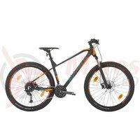 Bicicleta Sprint Apolon 27.5 negru mat/albastru/portocaliu 2020