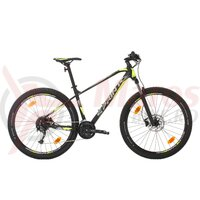 Bicicleta Sprint Apolon 29 negru mat/gri/verde neon 2020