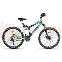 Bicicleta Sprint Element DB 26 Negru/verde 2020