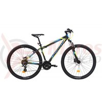 Bicicleta Sprint Maverick HDB 29 Negru/lime/albastru mat 2019