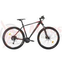 Bicicleta Sprint Maverick Pro 27.5 NegruMat/Gri/Rosu 2020