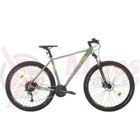Bicicleta Sprint Maverick Pro 29 gri mat/verde 2020