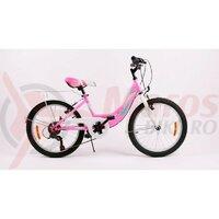 Bicicleta Sprint Starlet 20 roz neon lucios 2020