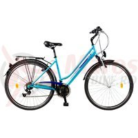 Bicicleta Travel 2854 albastra 2015