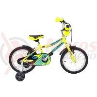 Bicicleta Venture 1617 galbena 2018