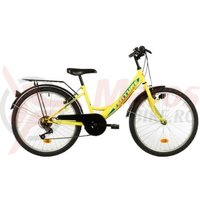 Bicicleta Venture 2418 galbena 2018