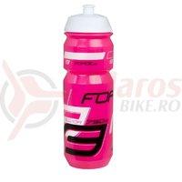 Bidon apa Force Savior 0.75l roz/alb/negru