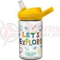 Bidon Camelbak Eddy + Kids 400 ml lets explore