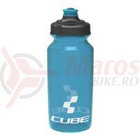Bidon Cube Icon albastru semi-transparent 500 ml