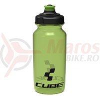 Bidon Cube Icon verde semi-transparent 500 ml