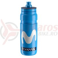 Bidon Elite Fly Team Movistar 0.75l albastru