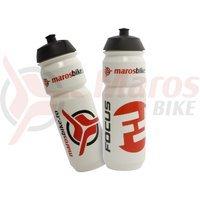 Bidon Focus/Maros Bike 0,7 litri alb
