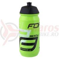 Bidon Force Savior 0.5L verde/alb/negru