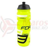 Bidon Force Savior 0.75l fluo/negru/alb