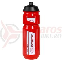 Bidon Force Stripe 0.75l rosu/alb