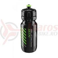 Bidonas Raceone XR1 600ml negru logo gri/verde