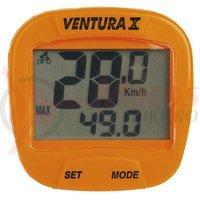 Bike Computer 10 functii orange Ventura