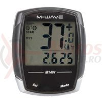 Bike Computer wireless M 14W M-Wave