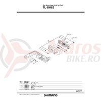 Bloc presare pentru dispozitiv Shimano TL-BH62