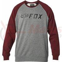 Bluza Apex Crew Fleece [Gry/Rd]
