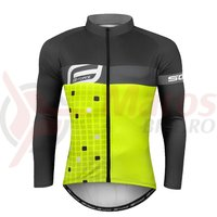Bluza Force Square Fluo-gri